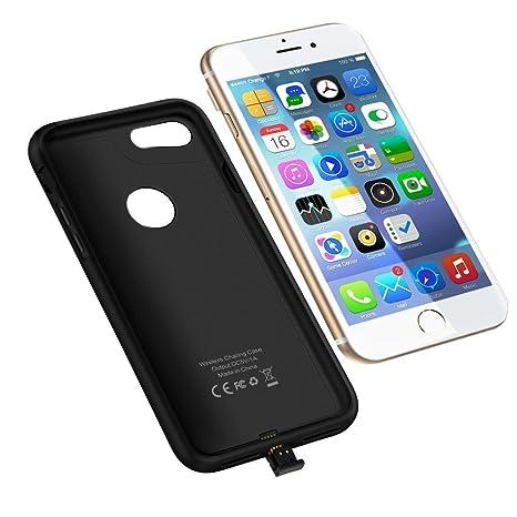 Anpress iPhone 7 inalámbrico receptor caso Qi carga ...