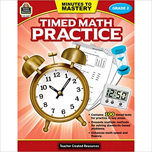 Minutes to Mastery-Timed Math Practice Grade 2