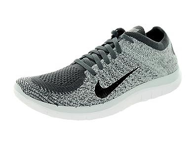 low priced d2525 727d3 Amazon.com | Nike Women's Free Flyknit 4.0 Dark Grey/Black ...