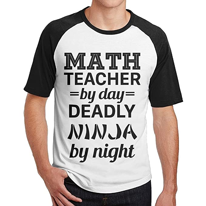 Amazon.com: HanSmallT Men Math Teacher Deadly Ninja Leisure ...