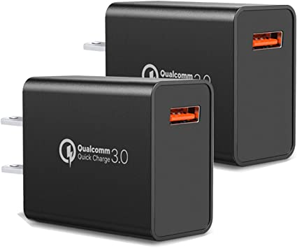 Amazon.com: Cargador de pared de carga rápida 3.0, 18 W, QC ...