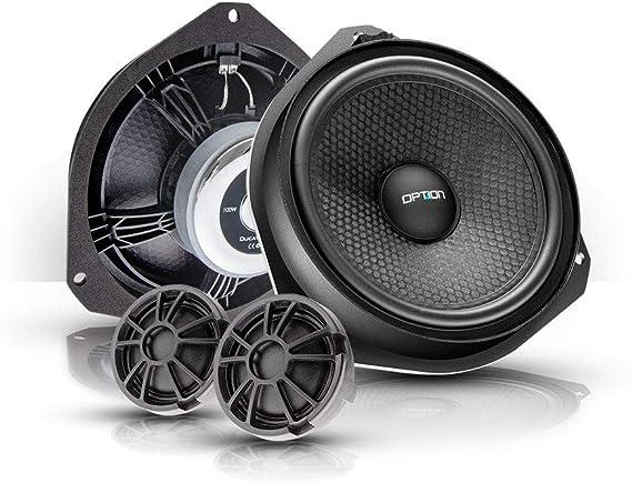 Option Ducato Air Lautsprecher Komplettset Kompatibel Mit Fiat Ducato Peugeot Boxer Citroen Jumper Typ 250 100 Plug Play Lautsprechersystem 50 Wrms 4 Ohm Audio Hifi
