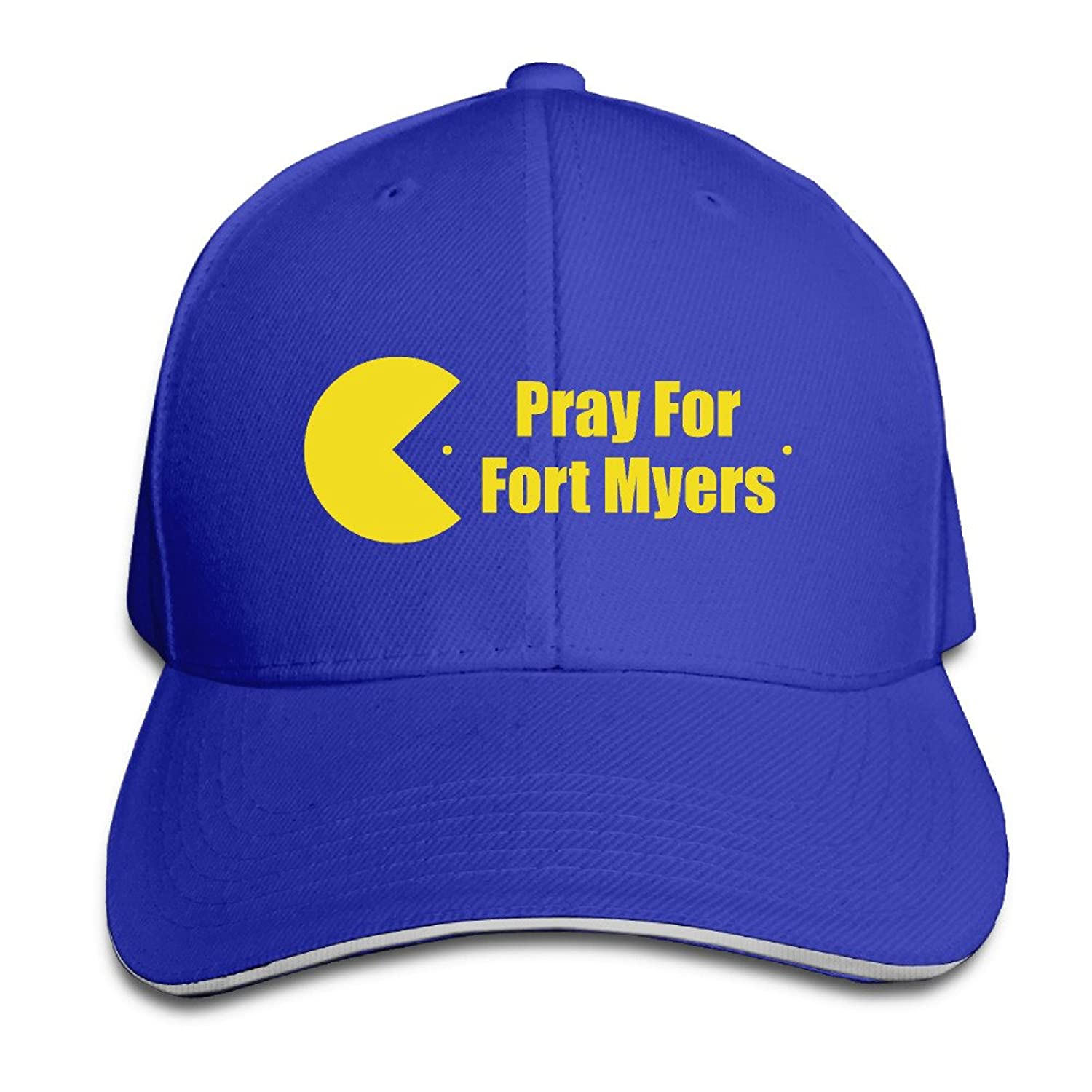 FOODE Pray For Fort Myers Peaked Baseball Cap Snapback Hats
