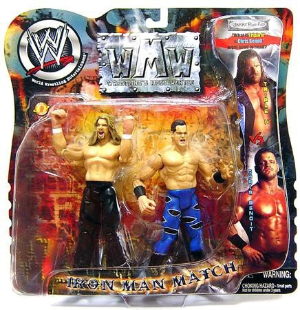 WWE Wrestling Action Figure 2-Pack Iron Man Match Chris Benoit Vs. HHH (Chris Benoit Best Match)
