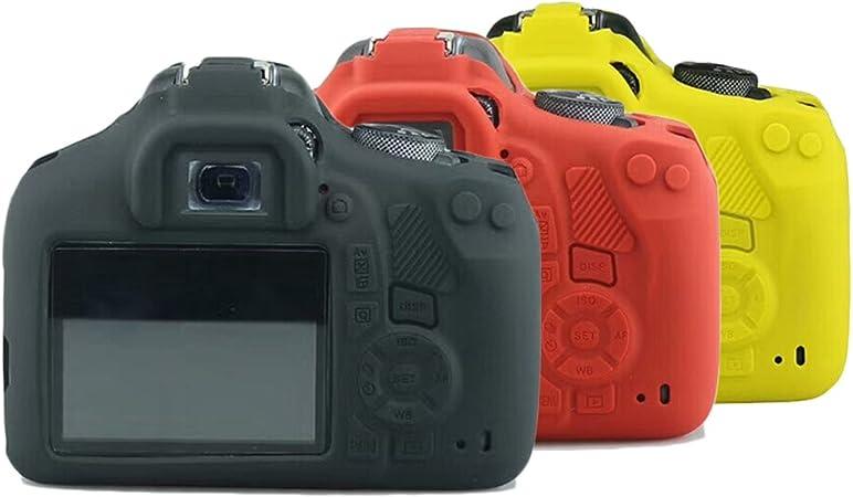 Easy cover – Funda de silicona para Canon EOS 1300d cuerpo suave ...