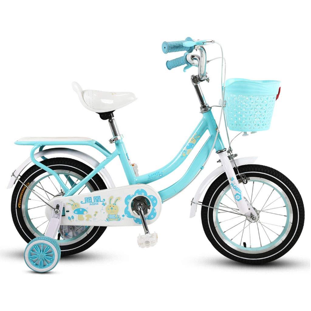 Obtén lo ultimo KTYXDE Bicicleta Infantil para niños niños niños Triciclo 3-5-9 años Cochecito de bebé 14 16 18 Pulgadas Niños Bicicleta púrpura Bicicleta para niños (Talla   14 Inch púrpura) 14 inch azul  buen precio
