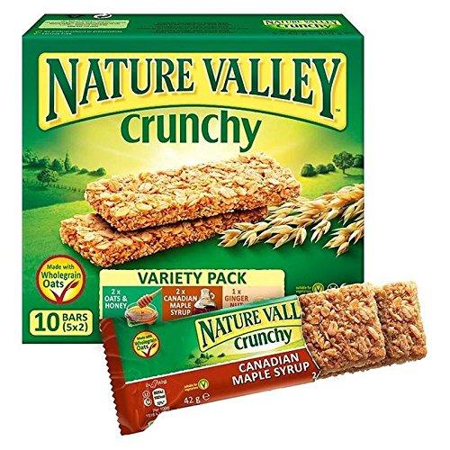 Nature Valley Granola Crujiente Paquete De Barras Variedad 5 X 42G