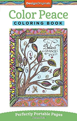 Color Peace Coloring Book: Perfectly Portable Pages (On