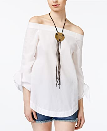 062ed2d803bd2 Free People Womens Oversized Smocked Pullover Top White S at Amazon ...