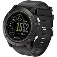 Zeblaze Smartwatch, Smart Watch compatibile Android 4.4 IOS 8.0 Bluetooth Fitness 3 HR Rugged Inside Out Monitoraggio delle risorse umane UI 3D All-Day Activity Record 1.22 'IPS Smart Watch per uomo d
