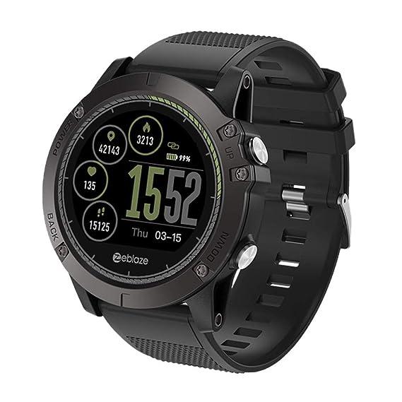 Amazon Com Blueyouth Zeblaze Vibe 3 Hr Smart Watch Rugged Inside