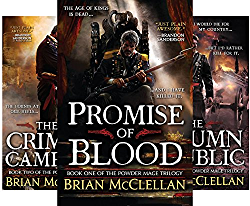 Powder Mage Series (3 Book Series) by  Brian McClellan