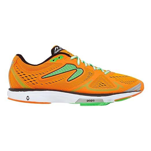 Newton Running Mens Fate Orange/Green Sneaker 8 D (M)