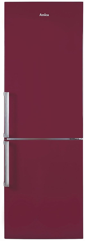 Amica KGC 15911 WR Nevera/congelador Color Rojo: Amazon.es ...