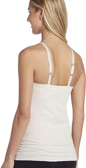 Jockey Women/'s Camisole Top Cotton Allure Cami Adjustable Built-in Shelf Bra $30