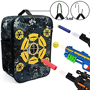 Target Pouch Storage Carry Equipment Bag for Nerf N-strike Elite / Mega / Rival Series