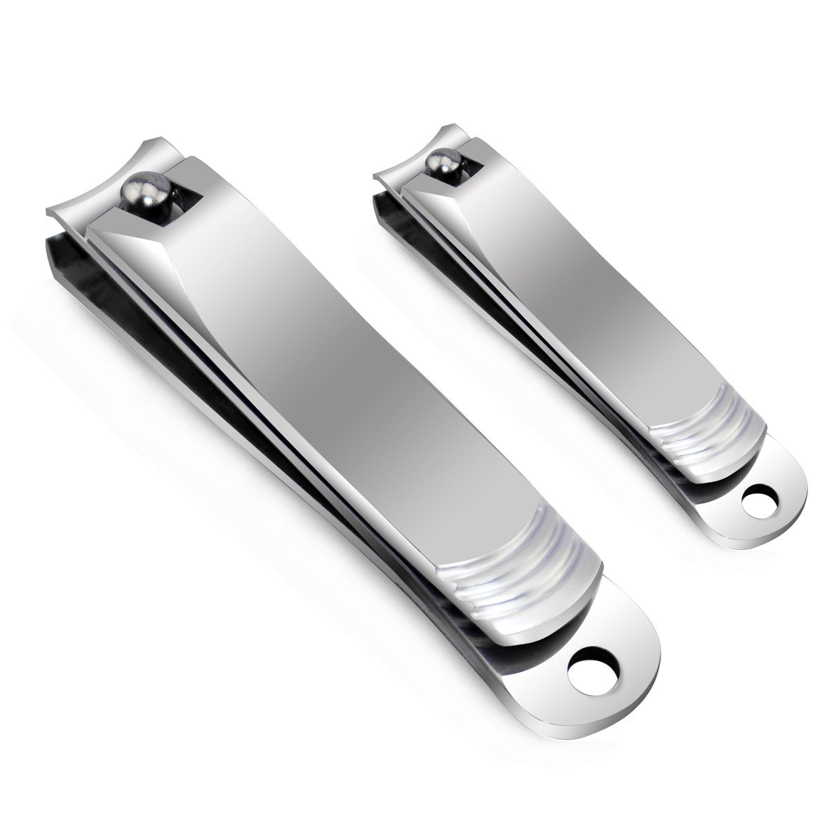 Nail Clippers Set - Chicone Stainless Steel Fingernail and Toenail Nail Cutter and Trimmer for Men Women with Gift Box