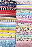 Arts & Crafts : levylisa 200 PCS 4'' x 4''100% Precut Cotton Fabric Bundles, DIY Sewing Quarters Bundle, Cotton Quarter Fabric Bundle, Precut Fabric, Quilting Fabric Bundles, Precut Quilt Kit, Vintage Sheet Supply