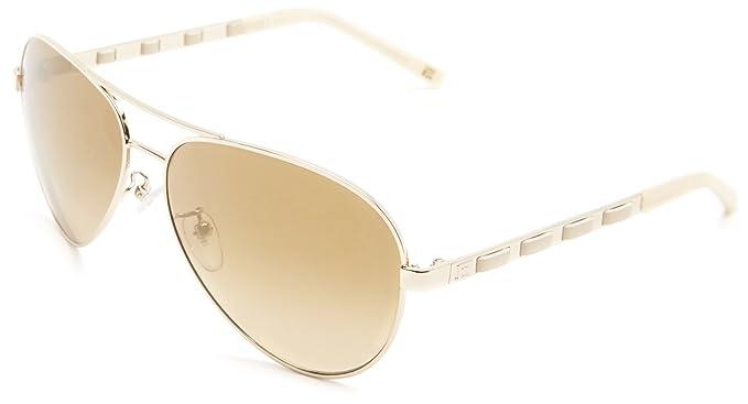 8cef95a1cdf Escada Sunglasses SES804-300X Aviator Sunglasses