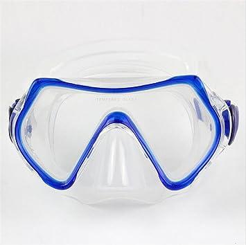 Junior Kids jóvenes profesional buceo máscaras silicona impermeable no fuga de la amplia visión clara gafas