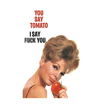 Amazon Retro Humouryou Say Tomato X Rated Greetings Card