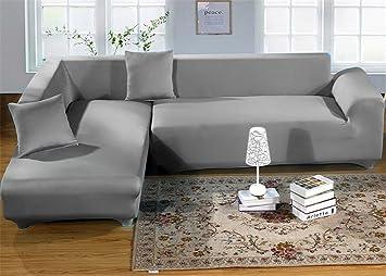 Sofa Bezug amazon de getmorebeauty sofabezug aus elastischem stoff für 2 3 4