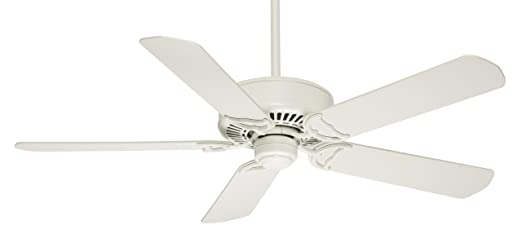 Casablanca 59510 panama dc 54 inch 5 blade ceiling fan snow white casablanca 59510 panama dc 54 inch 5 blade ceiling fan snow white with matte snow white blades amazon aloadofball Images