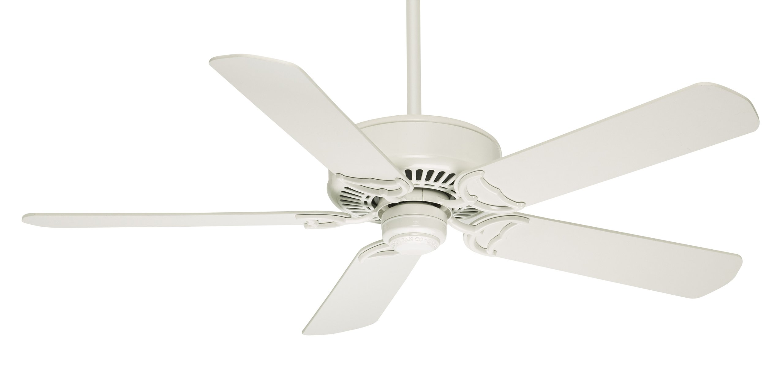 Casablanca 59510 Panama DC 54-Inch 5-Blade Ceiling Fan, Snow White with Matte Snow White Blades