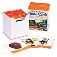 Learning Resources Basic Vocabulary 156 Photo Cards Deals