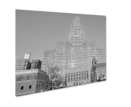 Amazon.com: Ashley Giclee Buffalo City Hall Art Deco Style Building ...