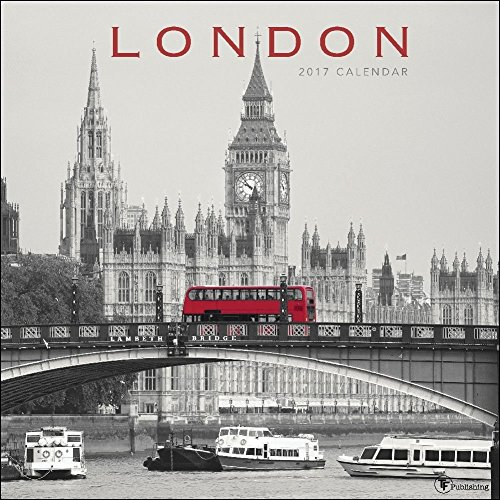 TF Publishing London 2017 Wall Calendar