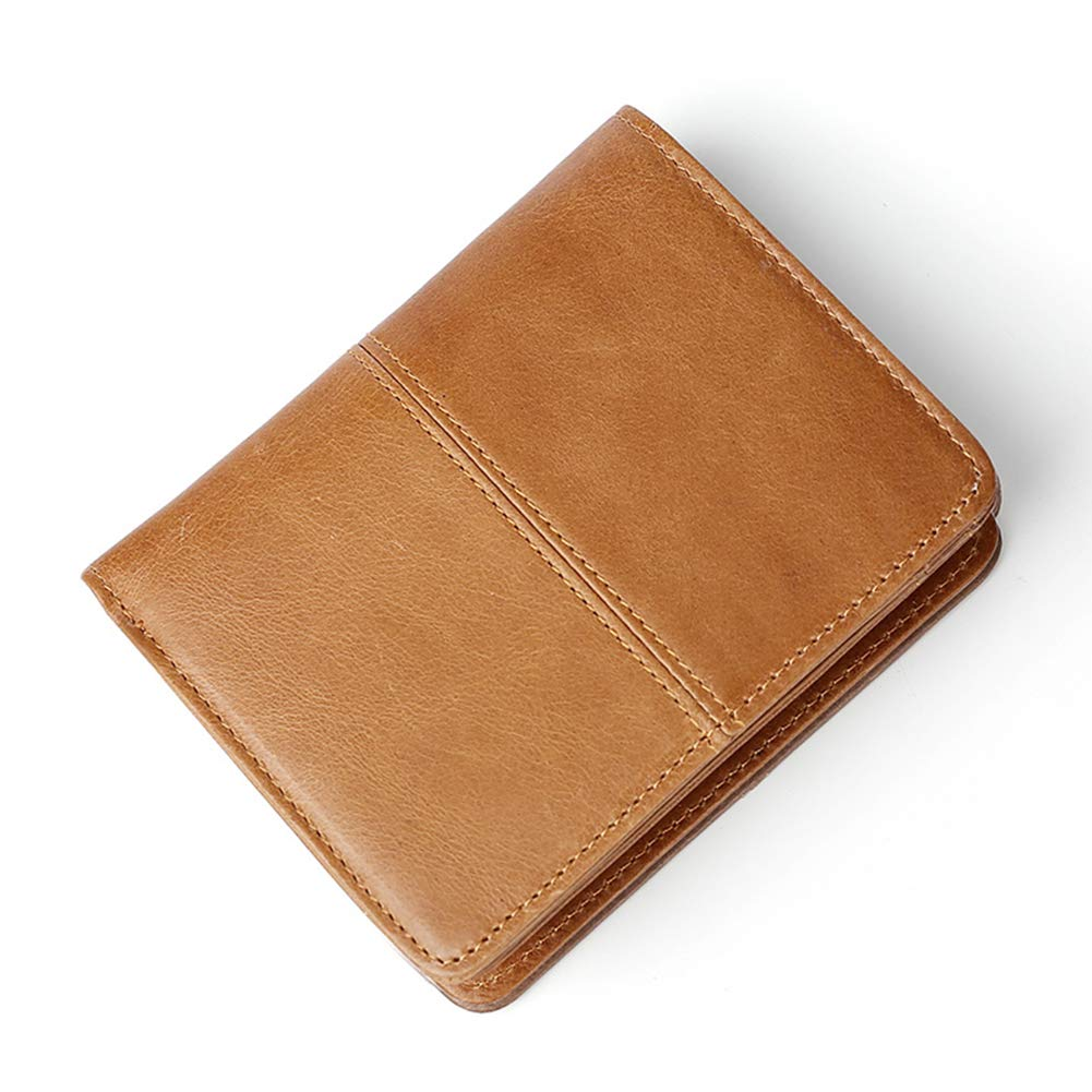 b7d1d5e26bfd Amazon | [Forest antler]メンズ財布 二つ折り 本革 財布 牛革 人気 さいふ 男性 ウォレット 小さい財布 レディース 大容量  RFID ブラウン | 財布