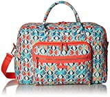 Vera Bradley Iconic Weekender Travel Bag, Signature Cotton, Go Fish