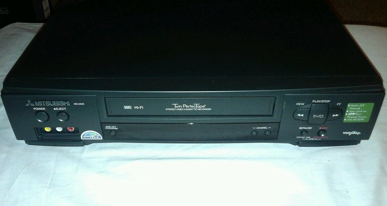 Mitsubishi Hs-u540 VCR 4 Head Vcr Plus