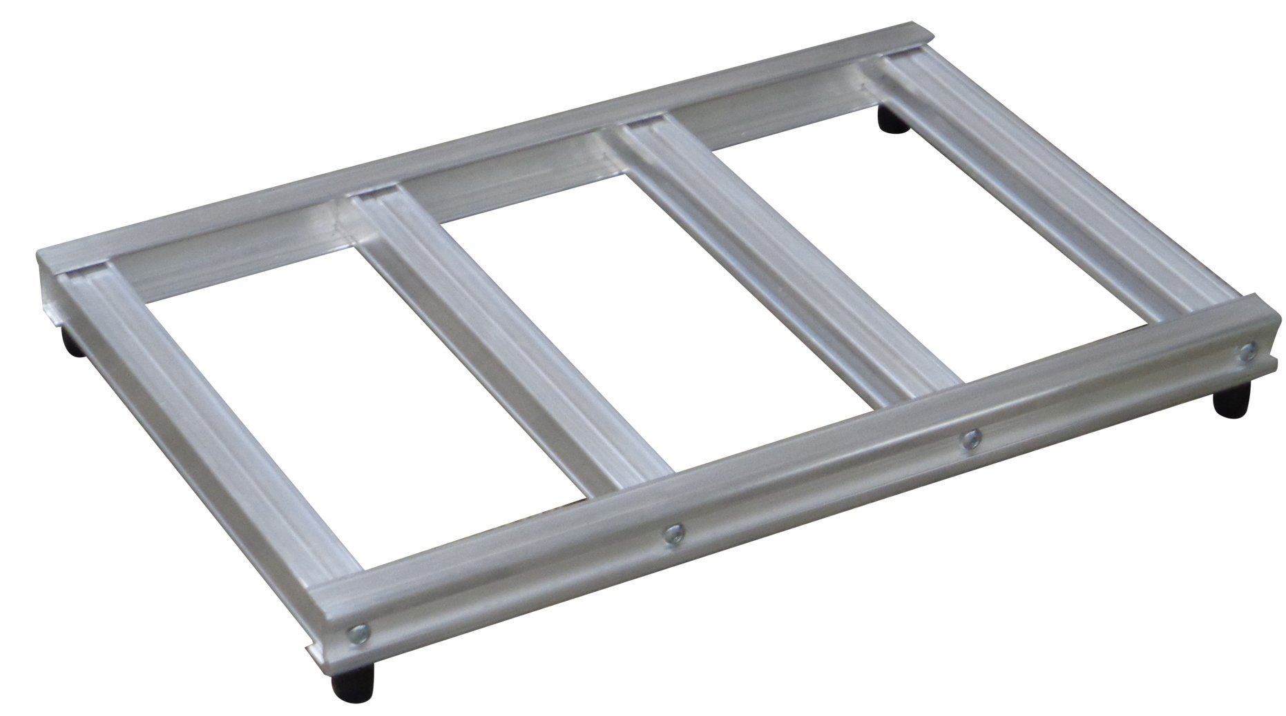 Magliner 303211 Mini Pallet for Hand Truck, Aluminum, 500 lb. Capacity, 20 Wide Opening, 500 fl. oz. Capacity, 15'' Length, 23'' Width
