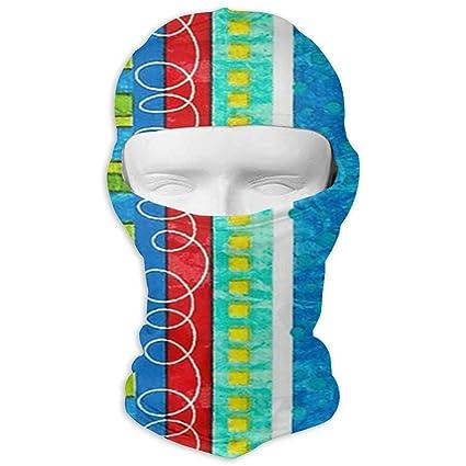 Amazon.com  UTKYH Bug s Life Funky Stripe Outdoor Ski Face Mask ... 300f60d2f
