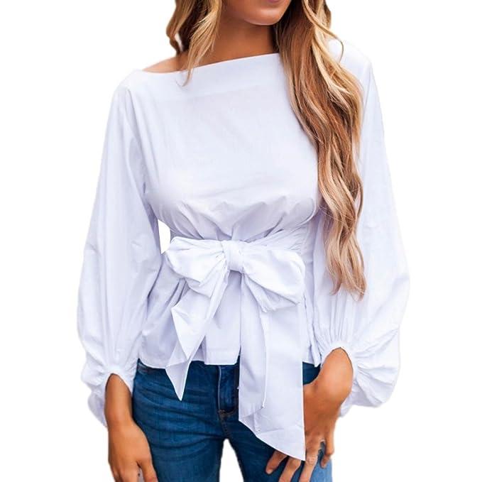 Blusa Mujer Elegante Sexy 2018 Camiseta De Vendaje con Hombros Descubiertos Camisetas Casuales De Manga Corta