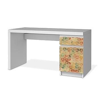 Klebefolie Sticker Tapete Fur Ikea Malm Schreibtisch Kommode Mobel