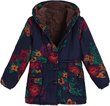 Amzeca Womens Jackets Autumn Overcoat Winter Hoodies Jackets Tops Pullovers
