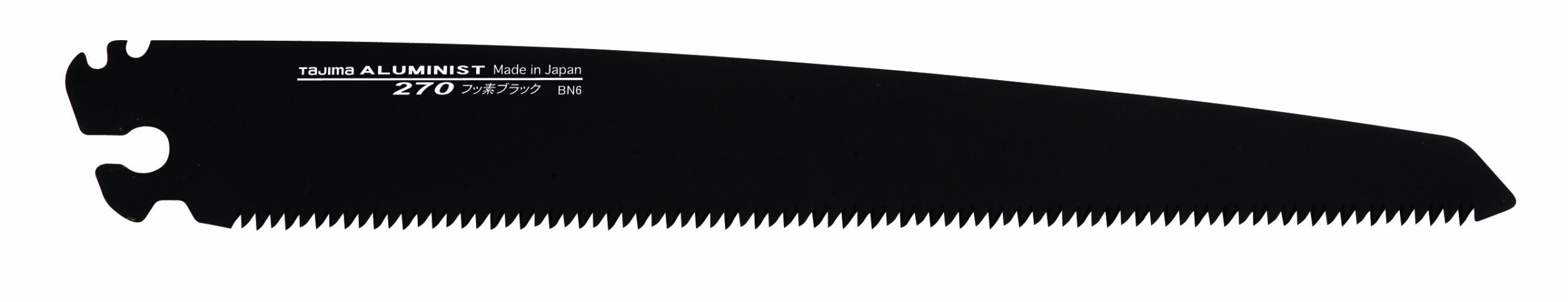 Tajima ALB-A240 Japanese Precision Hand Saw Replacement Aluminist Black Blade - 240mm - 9.4 inch - 9 TPI Fluoro-Coat Blade