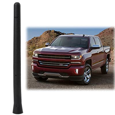 """Car Short Antenna Compatible Fit for Chevy Silverado GMC Sierra 2009-2020 