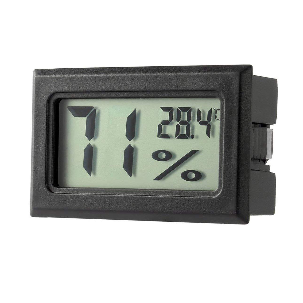 Liobaba Mini Digital LCD Thermometer Hygrometer Humidity Temperature Meter Indoor Digital LCD Display Sensor