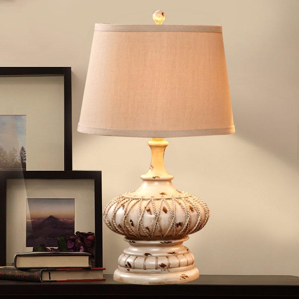 GYP Tischlampe Schlafzimmer Nachttisch Lampe Wohnzimmer Wohnzimmer Wohnzimmer Studie Retro Ehe Raum Heirats-Station Licht ( Farbe   A ) B077RTBGJ9 | Erste in seiner Klasse  67847f