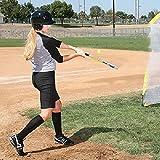 SKLZ Quick Stick Baseball and Softball Training Bat for Speed, 30 Inch, 12 Ounce