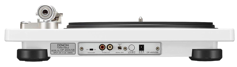 Denon DP-400 - Tocadiscos de Alta fidelidad: Amazon.es: Electrónica