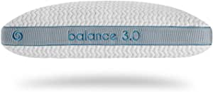 Bedgear Balance Performance Pillow - Temperature Neutral - Removable, Washable Cover - Four Pillow Heights for Back, Stomach, Side, and Multi-Position Sleepers - Balance 3.0
