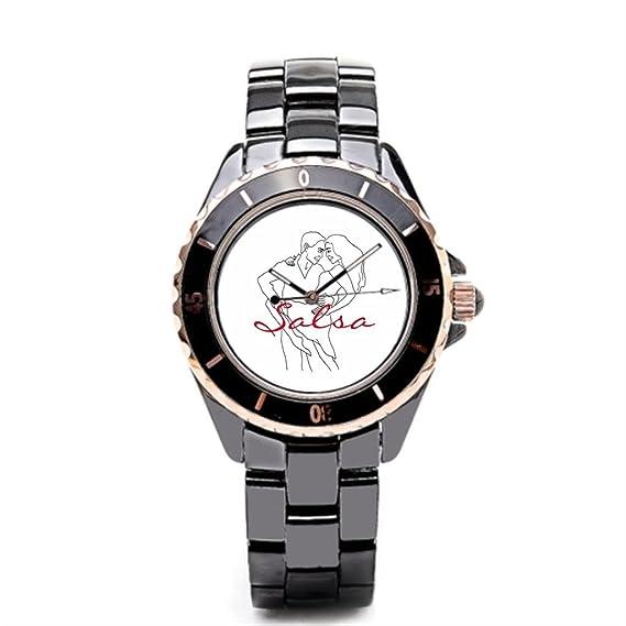 sjfy reloj de pulsera marcas fondo blanco pareja bailando barato Relojes de pulsera.: Amazon.es: Relojes