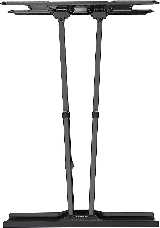 Meliconi OLED SDRP supporto doppio braccio e doppia  rotazione ideale per TV OLED fino a VESA 400x200 orientabile orizzontalmente e verticalmente.