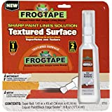 FrogTape 240709 Painting Tape for Textured Surfaces, 1.41-Inch x 45-Yard Roll with 6 oz. Sealer