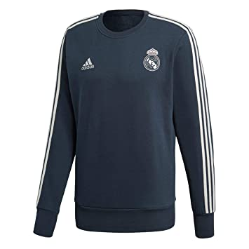adidas Sudadera Real Madrid 2018-2019 Tech onix-White  Amazon.es ... 63b5fafeff793